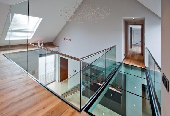 Glazen Vloer Huis : Vloeren glass inside