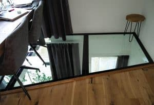 Glazen Vloer Huis : Glazen vloer: meer ruimte minder warmte verlies glass inside