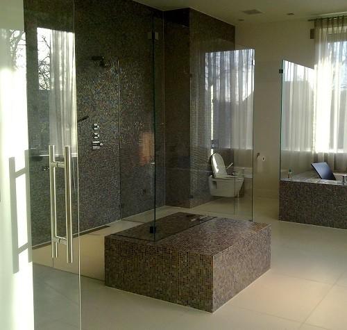 De glazen douche en ander badkamerglas - Glass Inside