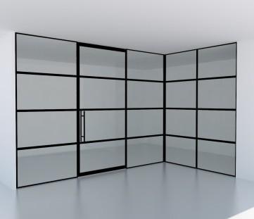 Glazen Industriële look deur in huis? Glass Inside natuurlijk!