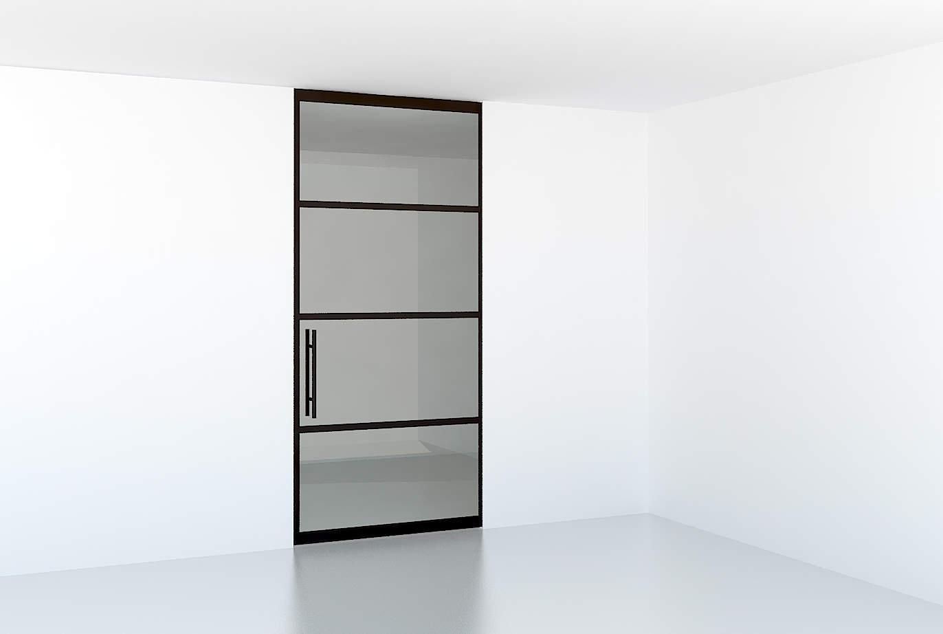Glazen Industri 235 Le Look Deur In Huis Glass Inside Natuurlijk